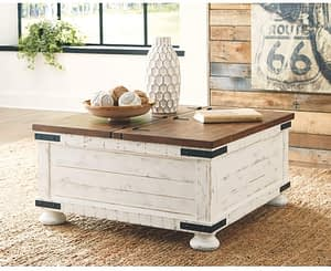 Rustic and Inviting Coffee Table