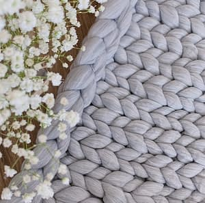 high quality chunky knit blankets