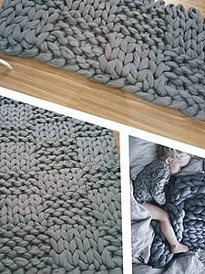 Unique Chunky Knit Blankets