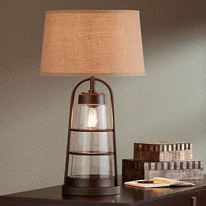 Industrial Warm Table Lamp