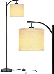 warm inviting living room lamp